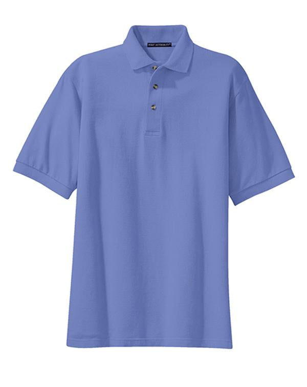 Port Authority Heavyweight Cotton Pique Polo-Port Authority-Pacific Brandwear