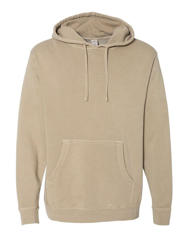 ITC Heavyweight Pigment-Dyed Hooded Sweatshirt-ITC-Pacific Brandwear