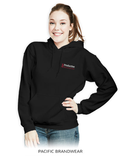 Productive Resources Hooded Pullover-Pacific Brandwear-Pacific Brandwear