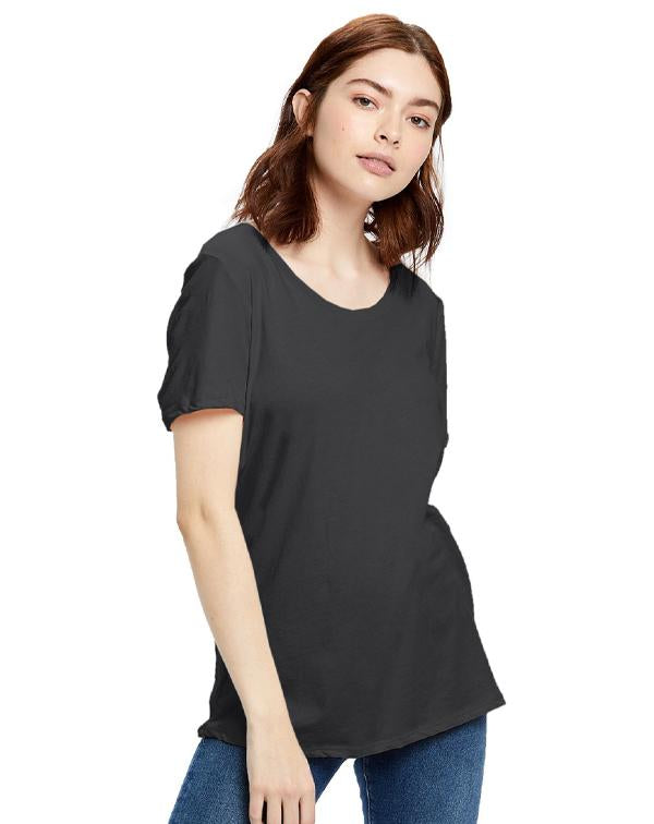 US Blanks Women's Short Sleeve Loose Fit Boyfriend Tee-US Blanks-Pacific Brandwear