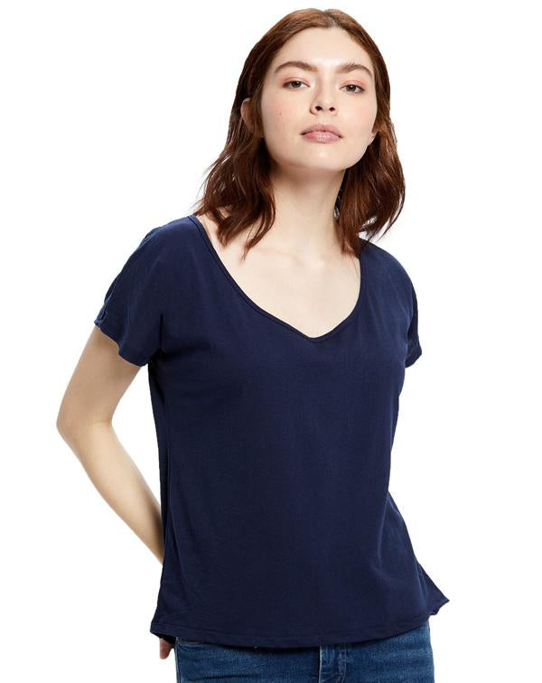 US Blanks Women's Recycled Scoop Blouse-US Blanks-Pacific Brandwear