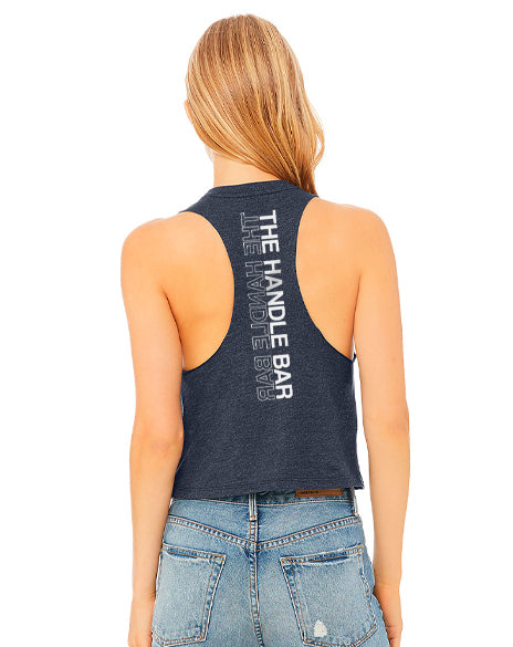 Chase The Beat Cropped Tank-Pacific Brandwear-Pacific Brandwear