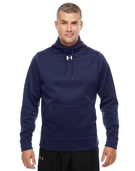 Business Logo Under Armour Hooded Sweatshirt-Pacific Brandwear-Pacific Brandwear