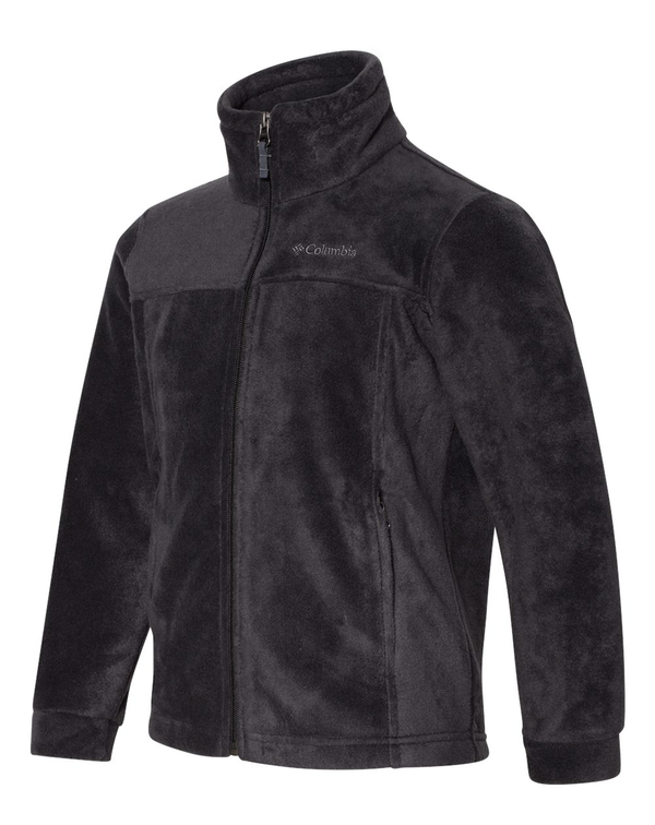 Youth Steens Mountain II Fleece Full-Zip Jacket-Columbia-Pacific Brandwear