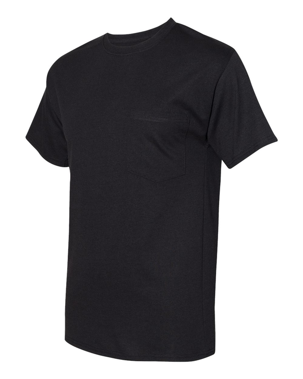 Workwear Short sleeve Pocket T-Shirt-Hanes-Pacific Brandwear