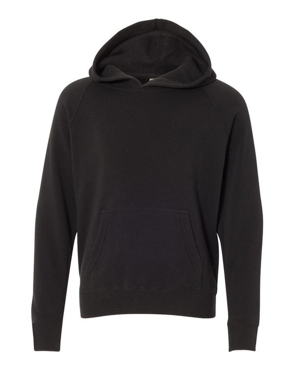 Youth Special Blend Raglan Hooded SweatShirt-Independent Trading Co.-Pacific Brandwear