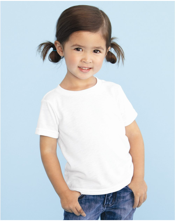 Toddler Polyester Sublimation Tee-SubliVie-Pacific Brandwear