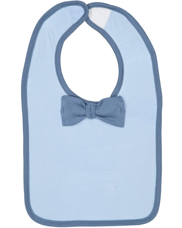 Infant Baby Rib Bow Tie Bib-Rabbit Skins-Pacific Brandwear