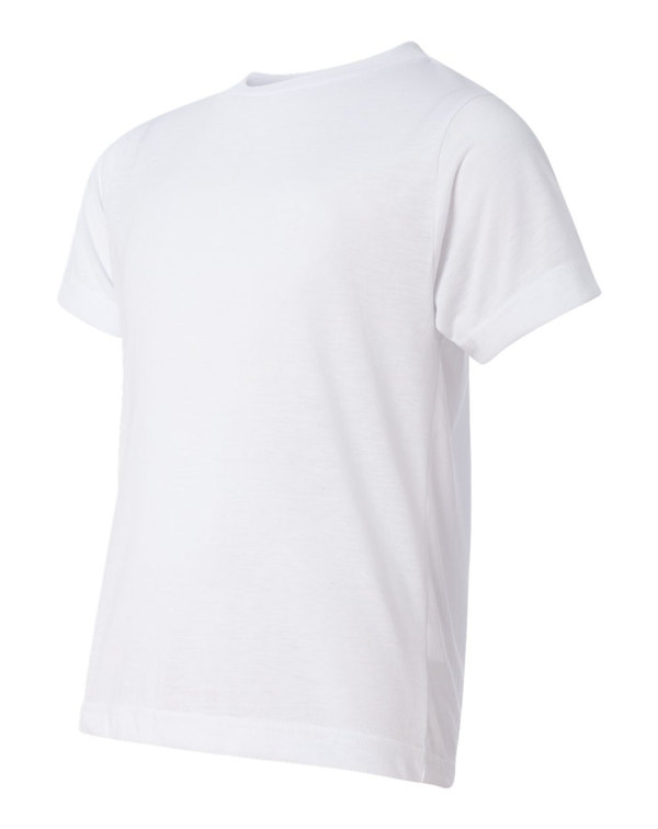 Youth Polyester Sublimation Tee-SubliVie-Pacific Brandwear