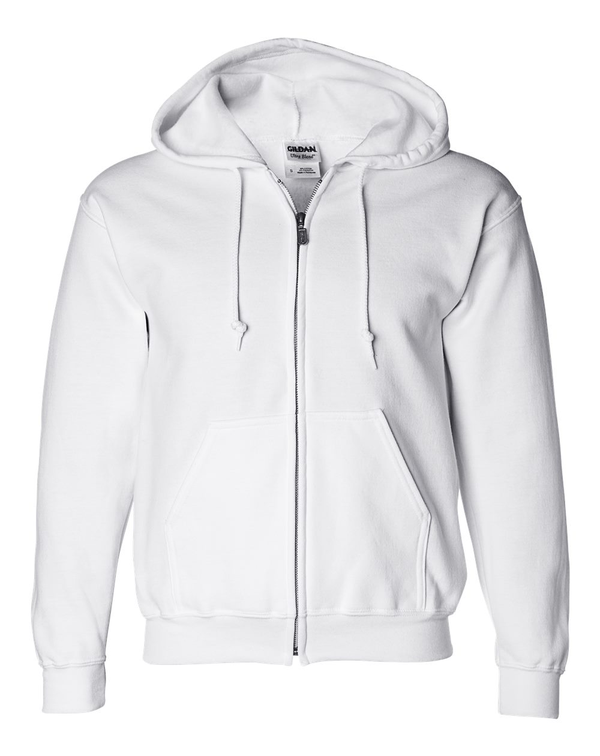 DryBlend Full-Zip Hooded Sweatshirt-Gildan-Pacific Brandwear