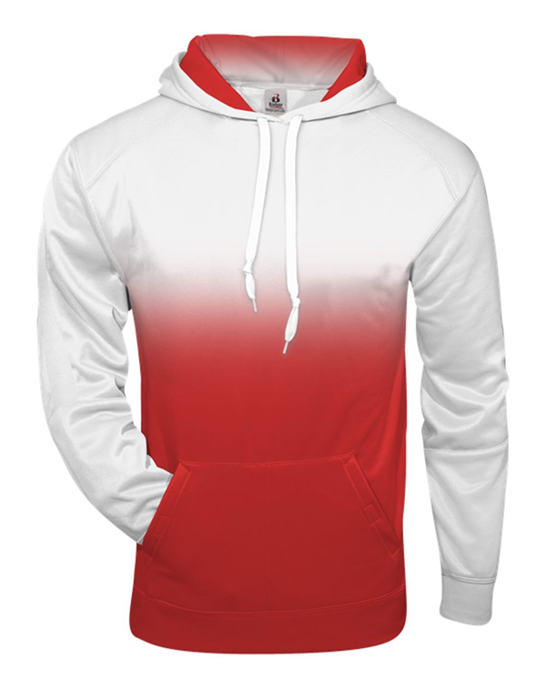 Ombre Hooded Sweatshirt-Badger-Pacific Brandwear
