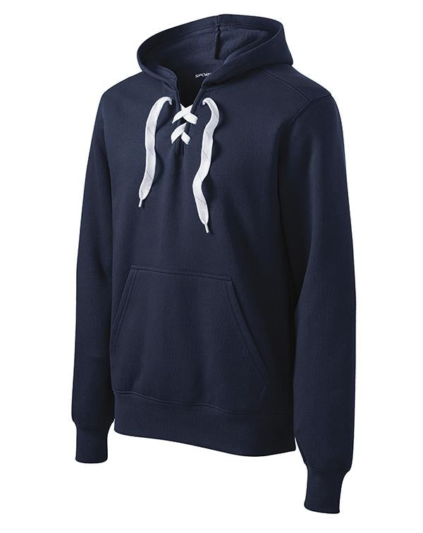Sport-Tek Lace Up Pullover Hooded Sweatshirt-Sport-Tek-Pacific Brandwear