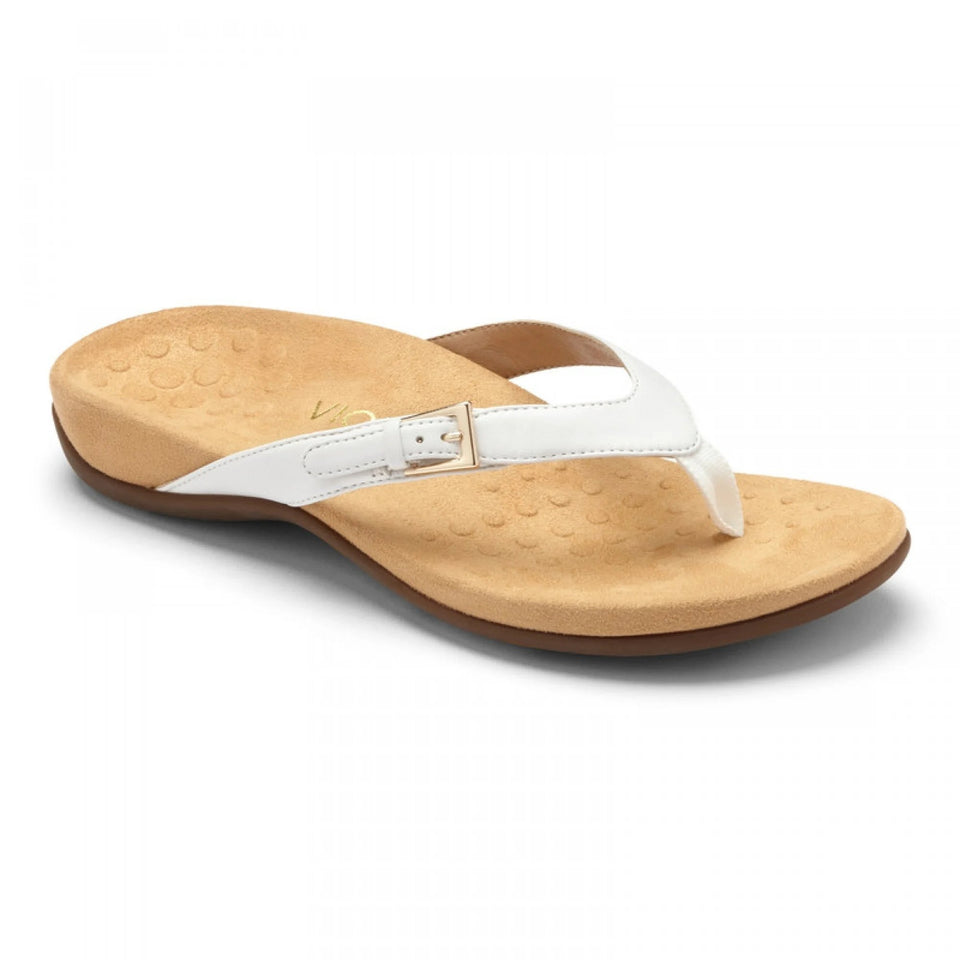 (BUY 2 FREE SHIPPING) Vionic Thong Sandals with Buckle Detail