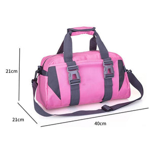 Fashion Waterproof Yoga Bag Fitness Bag Large Capacity Travel Gym Bag Shoulder Cross body Sport For Women And Men