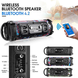 Portable High-Power Bluetooth Speaker