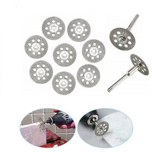 Double Sided Diamond Cutting Discs - 10Pcs