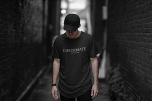 Black Coke ® - CHECKMATE - Longline - T-Shirt