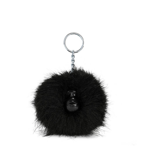 POMPOM MONKEY(10) TRUE BLACK - Kipling UAE