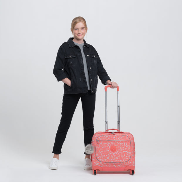MANARY HEARTY PINK MET - Kipling UAE