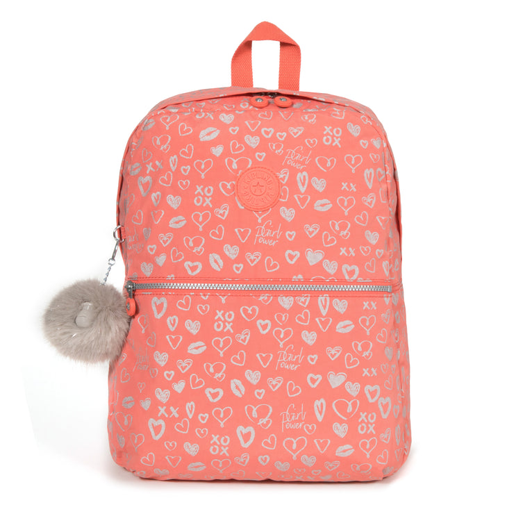EMERY HEARTY PINK MET - Kipling UAE