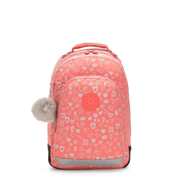 CLASS ROOM HEARTY PINK MET - Kipling UAE