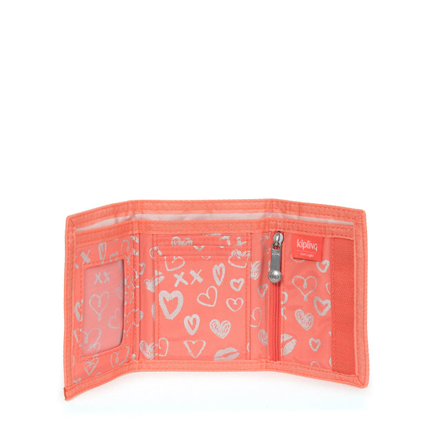 MICKYLINA HEARTY PINK MET - Kipling UAE