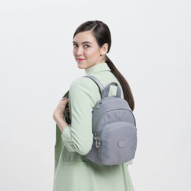 DELIA MINI NATURAL GREY - Kipling UAE