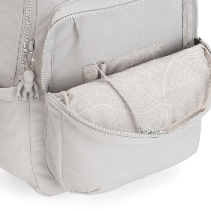 SEOUL CURIOSITY GREY - Kipling UAE