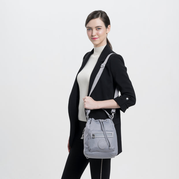 VIOLET S NATURAL GREY - Kipling UAE