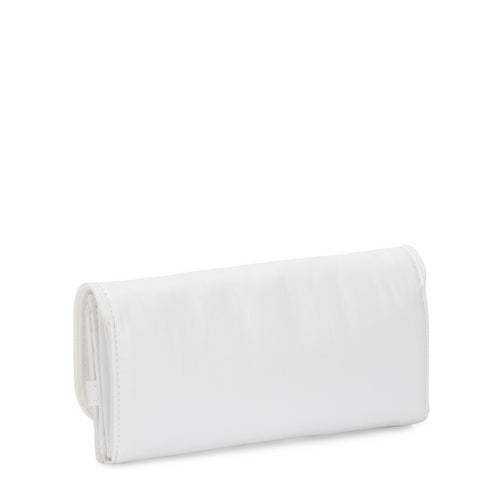 Kipling Money Land White Metallic - Large Rfid Wallet - Ki701547I