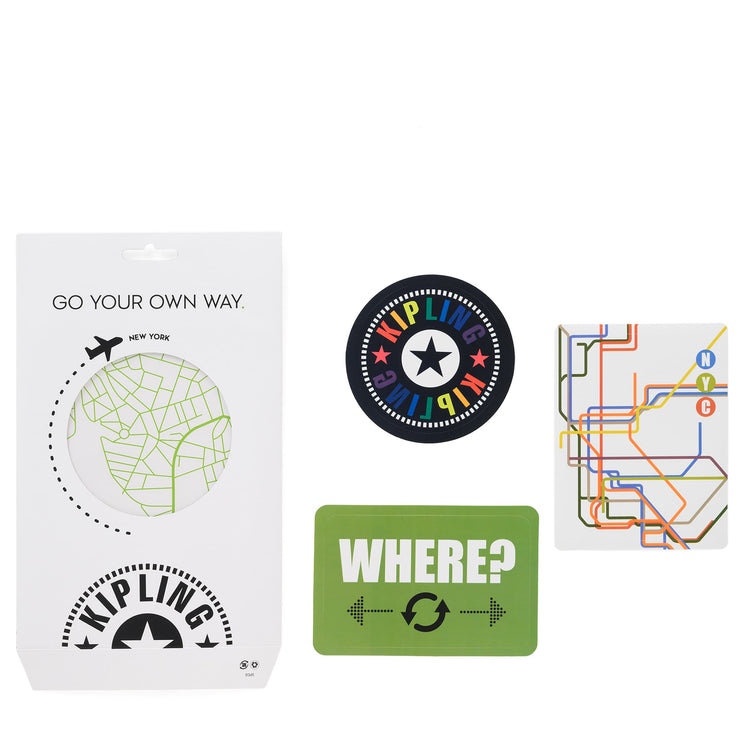 STICKER SET MAP MIX COL SS20 - Kipling UAE