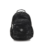 SEOUL 2 IN 1 CAMO BLACK FL - Kipling UAE