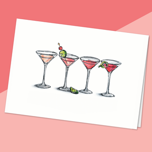 Martini rose - Fetes Grenadine