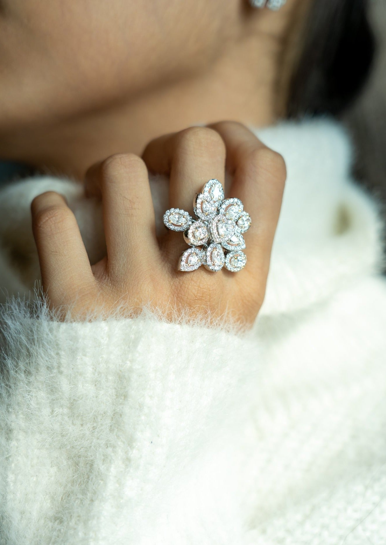 Different Shaped Cocktail Ring