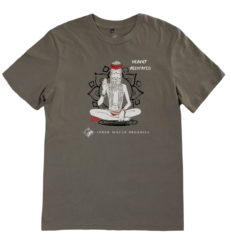 Men's Ashram Tee - Inner Waves Organics