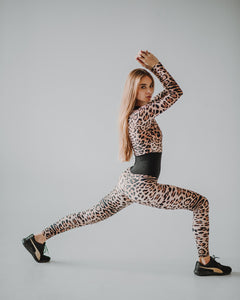 One-piece Bodysuit Element Leo Long Sleeve - KSUFIT Activewear