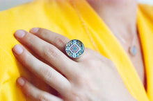 Load image into Gallery viewer, Anillo Talavera Amarillo