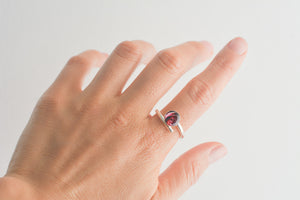 Anillo Rosas DEEP PURPLE