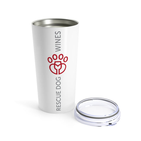 Rescue Dog Wines Tumbler 20oz