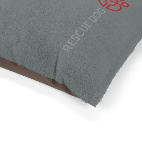 Rescue Dog Wines Pet Bed