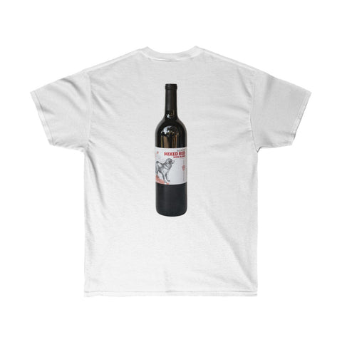 Rescue Dog Wines Beloved Mixed Red Wine Blend Unisex Ultra Cotton Tee