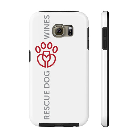 Rescue Dog Wines Case Mate Tough Phone Cases