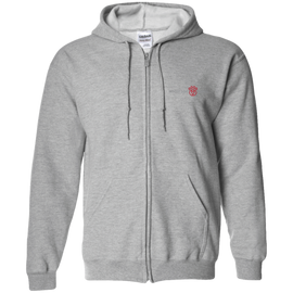 RDW Gildan Zip Up Hooded Sweatshirt