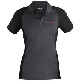 RDW Logo Sport-Tek Ladies' Colorblock Sport-Wick Polo