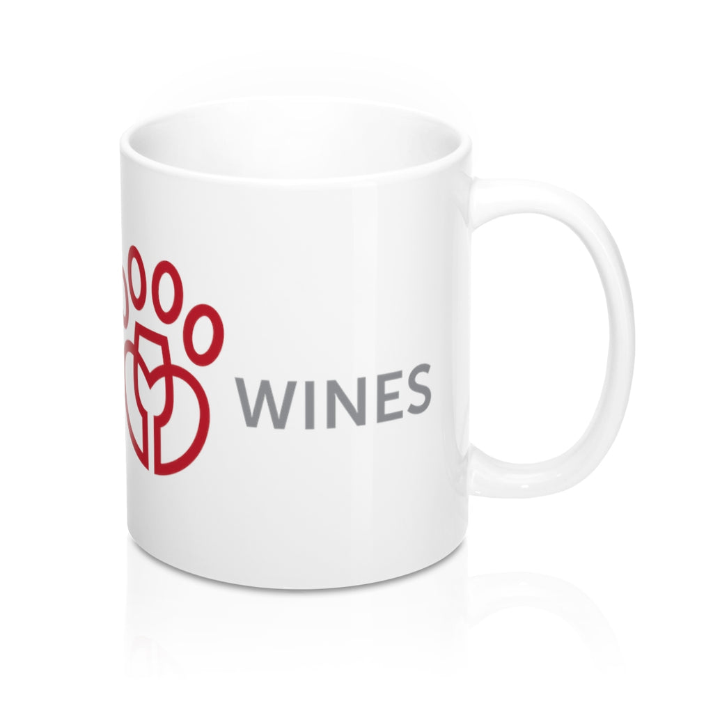 Rescue Dog Wines Mug 11oz