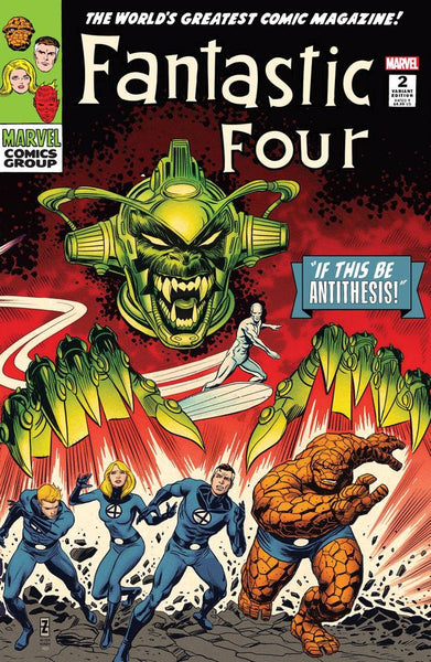 Fantastic Four Antithesis #2 (Of 4) Patrick Zircher Exclusive Variant Set