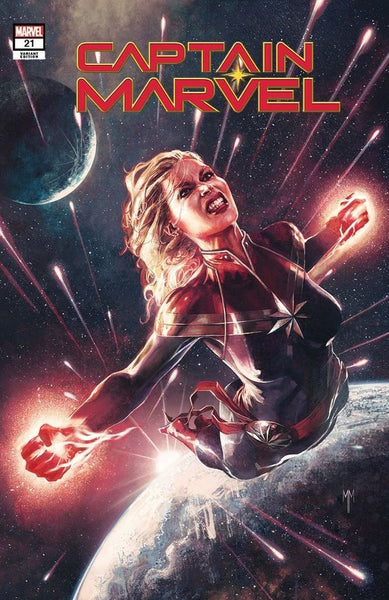 Captain Marvel #21 Marco Mastrazzo Exclusive Variant