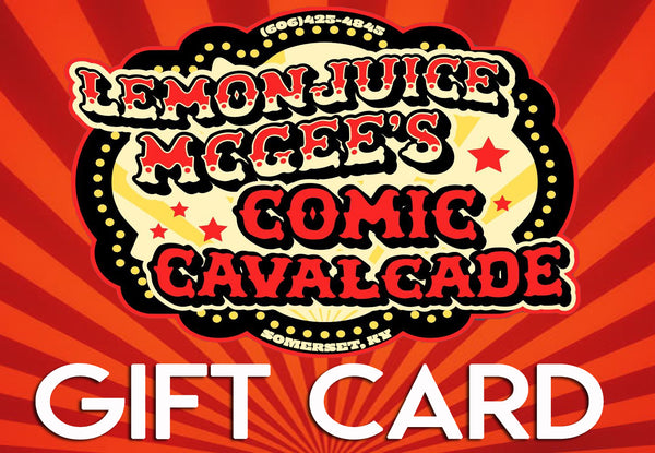 LemonJuice McGee's Gift Card