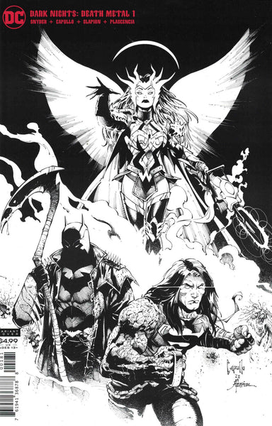 Dark Nights Death Metal #1 (of 6) Capulla Sketch Card Stock Variant
