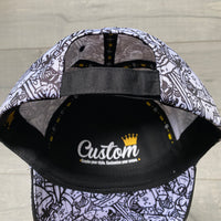 Velcro Baseball Cap CC3 Artist Edition by 'Cat Lines' (includes 1 x Velcro Patch)